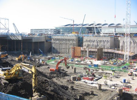 Heathrow - Diaphragm Wall & Ground Anchors