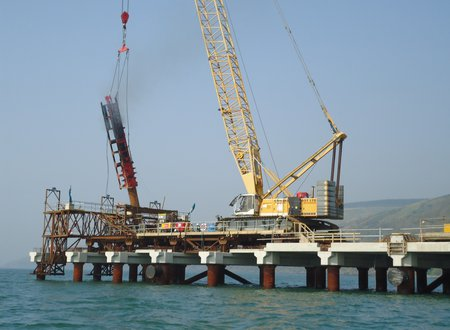 Loch Ryan - Driven Steel Tube Piles